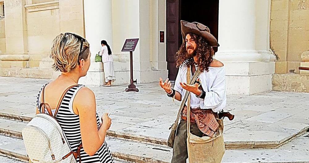 The Corsairs of Malta in Valletta Tour- Walking Malta