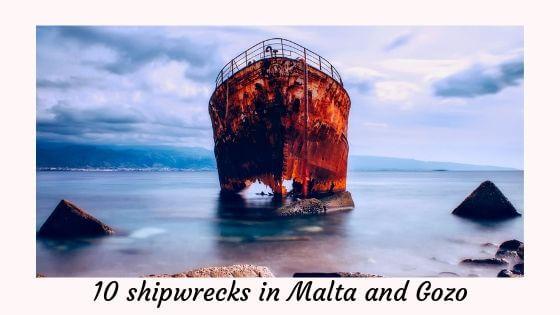 10 shipwrecks in Malta and Gozo