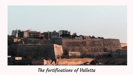 The fortifications of Valletta