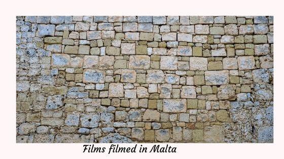 Films filmed in Malta