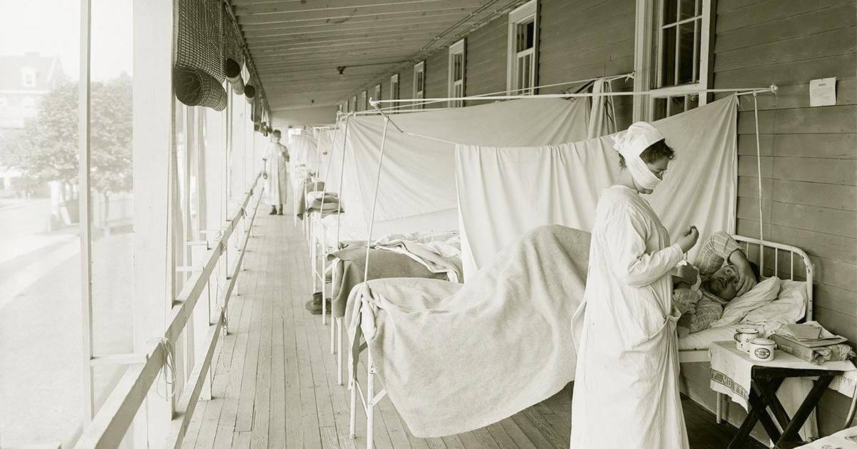 The Spanish flu in Malta.