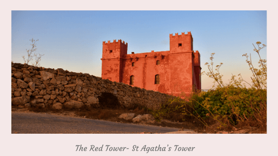 The Red Tower- St Agatha's Tower