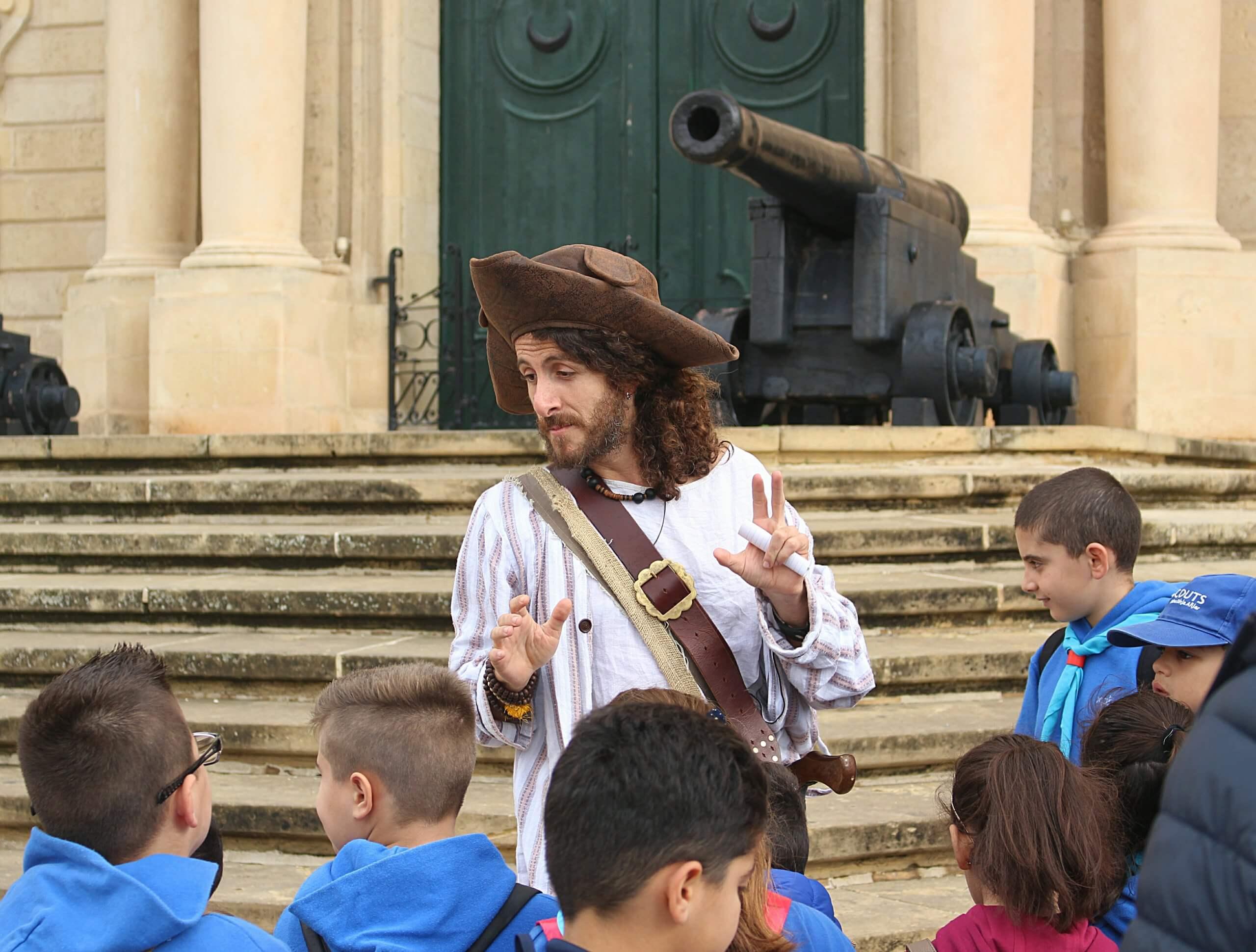 Children's Pirate Valletta Tour